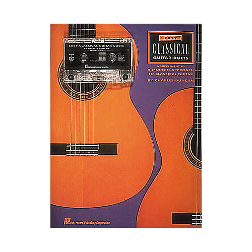 Hal Leonard Easy Classical Guitar Duets (Book/Cassette)