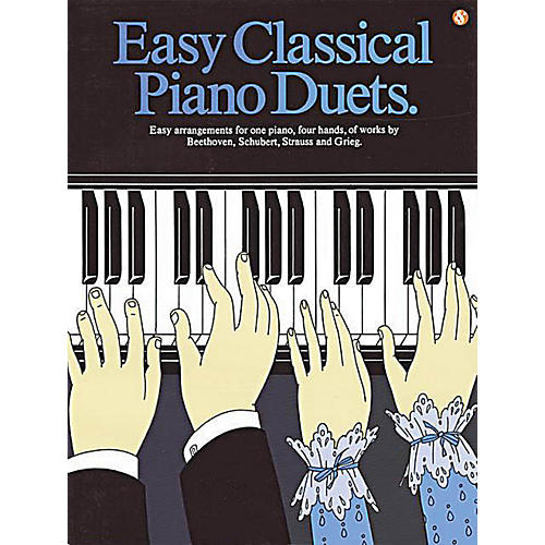 Music Sales Easy Classical Piano Duets Music Sales America Series Softcover-thumbnail