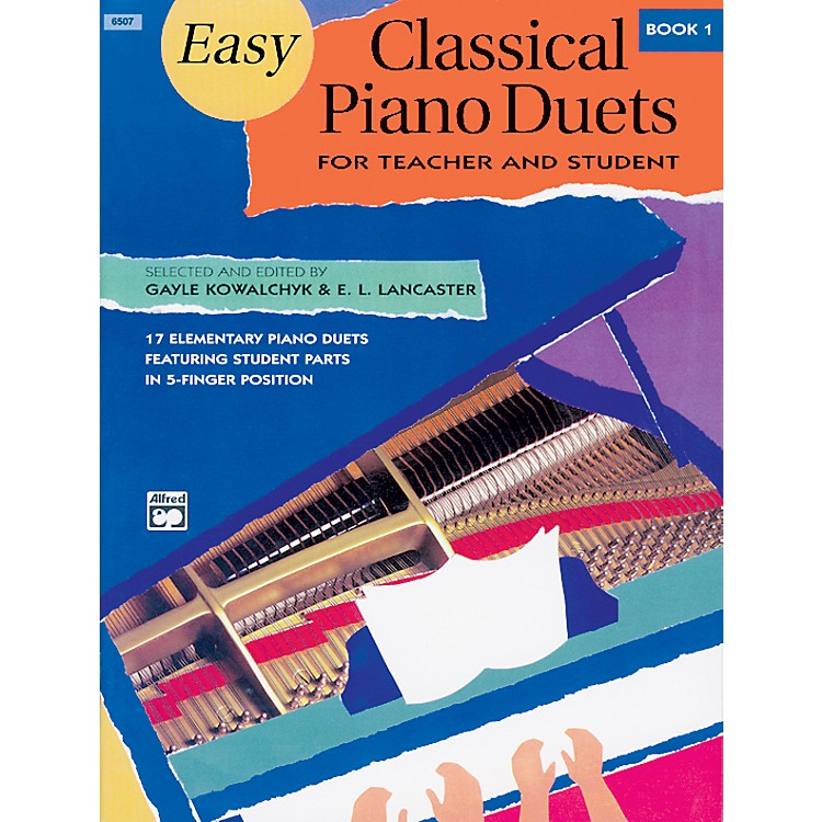 Alfred Easy Classical Piano Duets for Teacher and Student Book 1