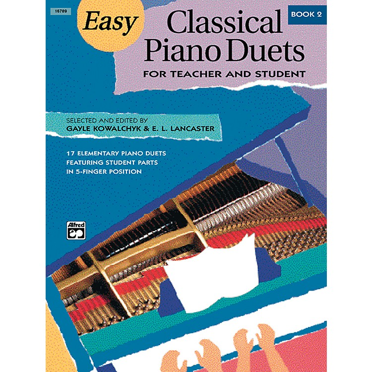 Alfred Easy Classical Piano Duets for Teacher and Student Book 2