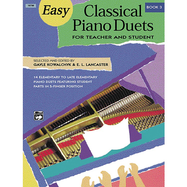 AlfredEasy Classical Piano Duets for Teacher and Student Book 3