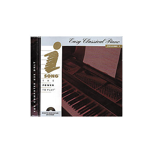iSong Easy Classical Piano Volume 1 (CD-ROM)
