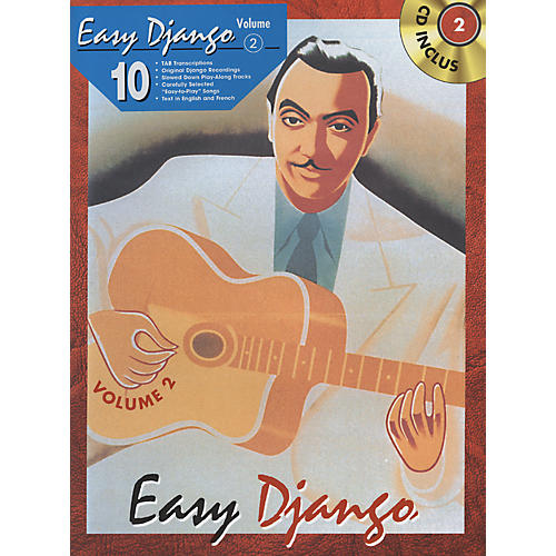 Alfred Easy Django - Volume 2 (Book/CD)-thumbnail