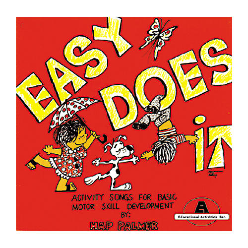 Educational Activities Easy Does It by Hap Palmer (Cassette)-thumbnail