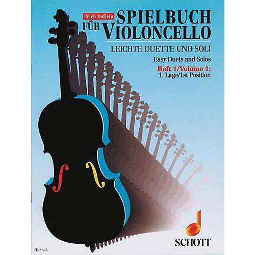 Schott Easy Duets and Solos - Vol. 1 (Cello) Schott Series-thumbnail