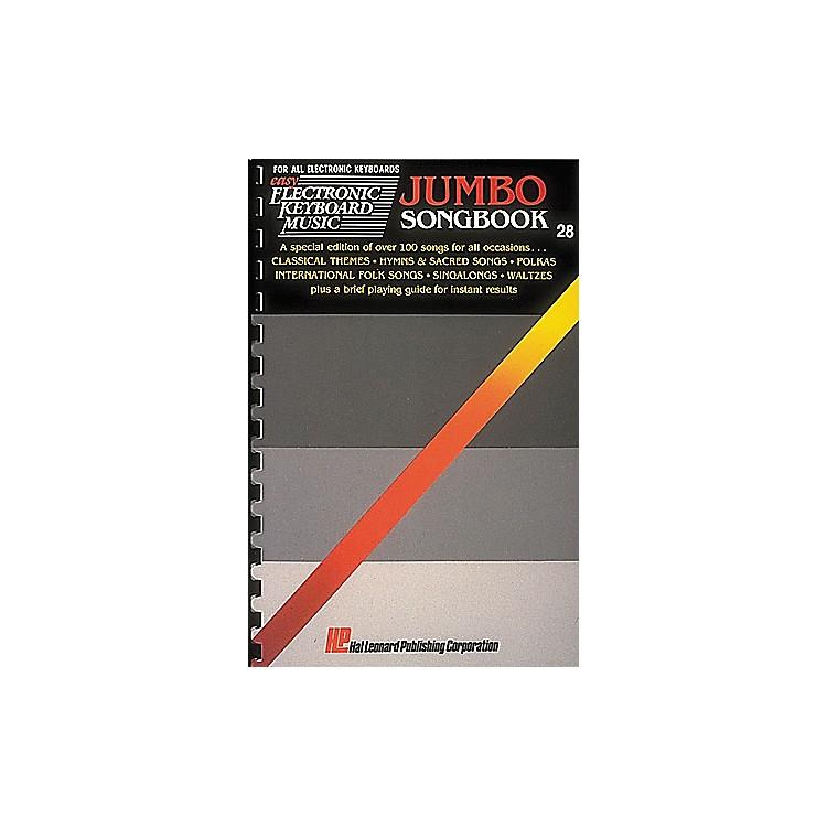 Hal LeonardEasy Electronic Keyboard Music #028 - Jumbo Songbook
