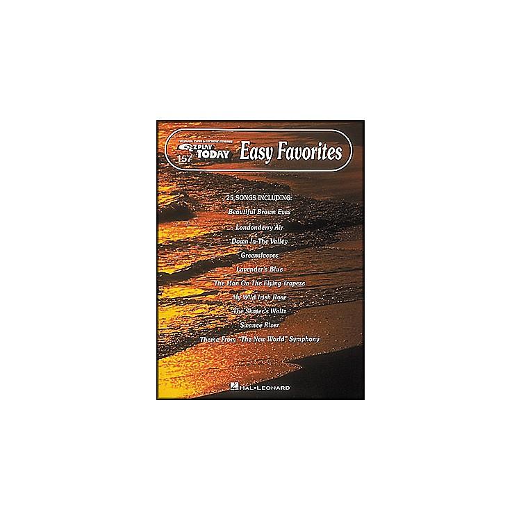 Hal LeonardEasy Favorites E-Z Play 157
