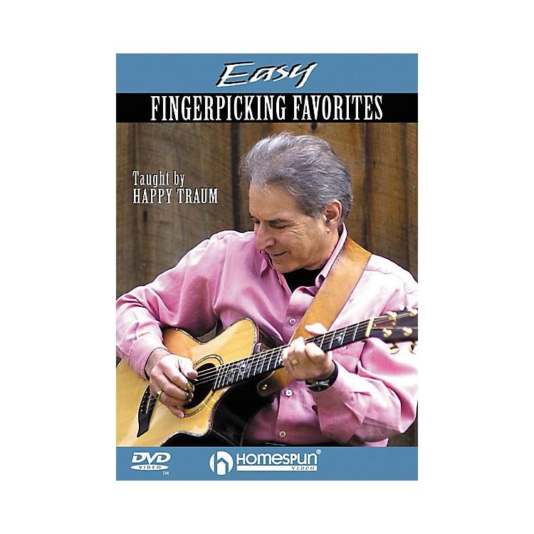 HomespunEasy Fingerpicking Favorites (DVD)