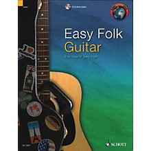 Schott Easy Folk Guitar (29 Traditional Pieces) Guitar Series Softcover with CD