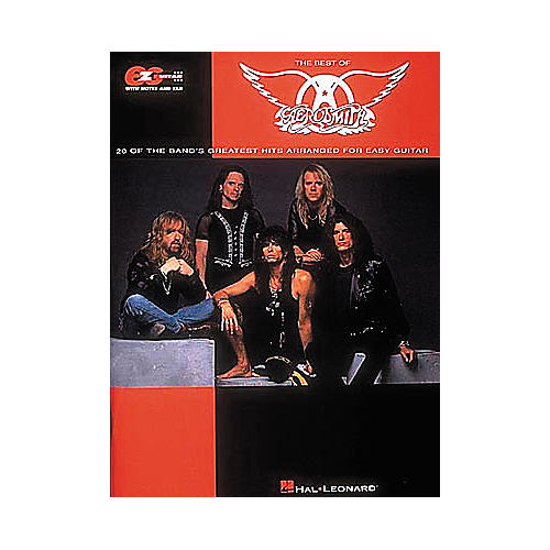 Hal Leonard Easy Guitar - Best Of Aerosmith Guitar Tab Book