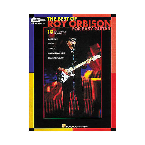 Hal Leonard Easy Guitar - Best Of Roy Orbison Book