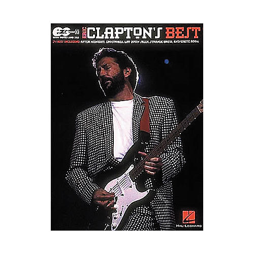 Hal Leonard Easy Guitar - Best of Eric Clapton Book-thumbnail