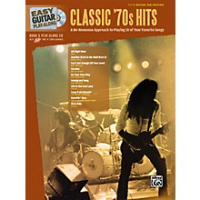 Alfred Easy Guitar Play-Along Classic '70s Hits Book & CD