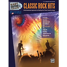 Alfred Easy Guitar Play-Along: Classic Rock Hits (Book/CD)