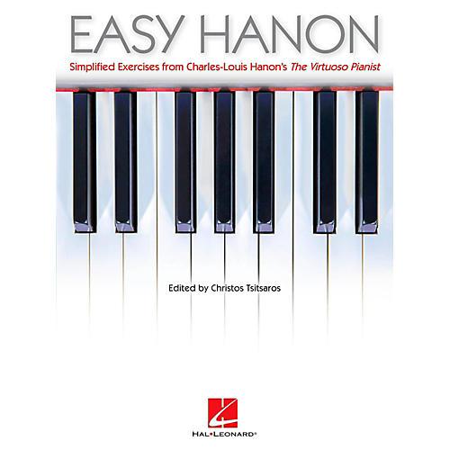 Hal Leonard Easy Hanon - Simplified Exercises from Charles-Louis Hanon's The Virtuoso Pianist-thumbnail