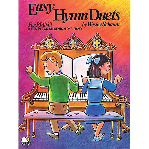 SCHAUM Easy Hymn Duets Educational Piano Series Softcover