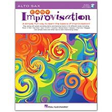 Hal Leonard Easy Improvisation for Alto Sax Book/Audio Online
