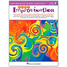 Hal Leonard Easy Improvisation for Keyboard Percussion Book/Audio Online