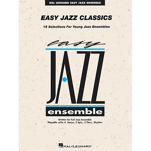 Hal Leonard Easy Jazz Classics - Baritone Sax Jazz Band Level 2-thumbnail