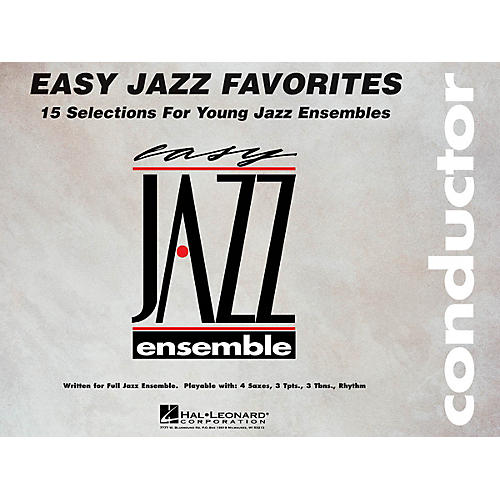 Hal Leonard Easy Jazz Favorites - Conductor Jazz Band Level 2 Composed by Various