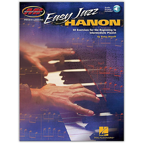 Hal Leonard Easy Jazz Hanon - 50 Exercises for the Beg to Int Pianist (Book/Audio Online)-thumbnail