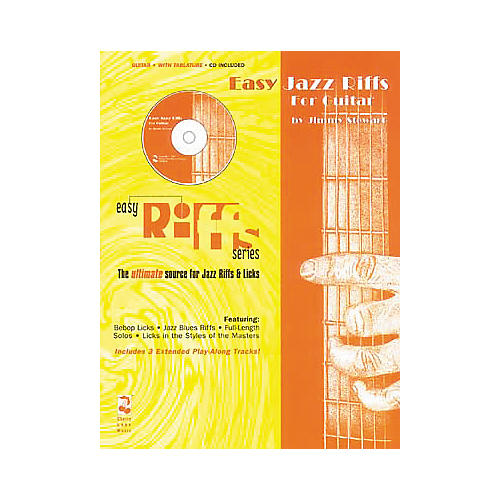 Hal Leonard Easy Jazz Riffs (Book and CD Package)