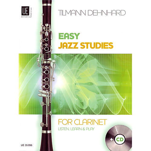 Carl Fischer Easy Jazz Studies For Clarinet Book-thumbnail
