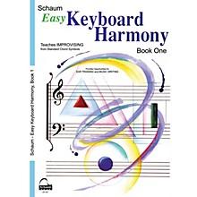 SCHAUM Easy Keyboard Harmony (Book 1 Upper Elem Level) Educational Piano Book by Wesley Schaum