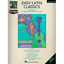 Hal Leonard Easy Latin Classics - Easy Jazz Play-Along Volume 5 Book/CD