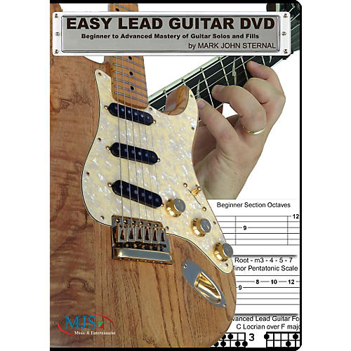 MJS Music Publications Easy Lead Guitar DVD: Beginner to Advanced Mastery of Guitar Solos and Fills