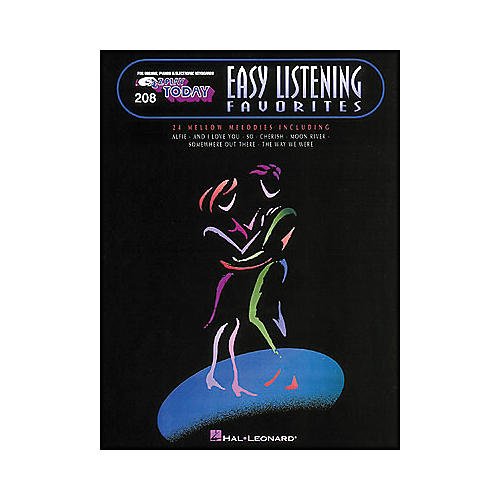 Hal Leonard Easy Listening Favorites E-Z Play 208
