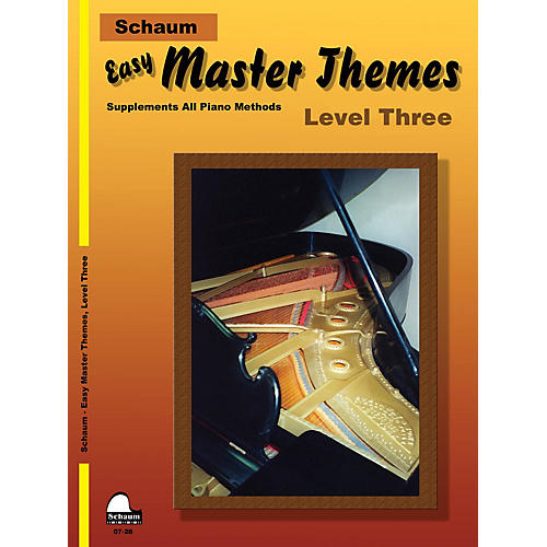 SCHAUM Easy Master Themes, Lev 3 Educational Piano Series Softcover-thumbnail