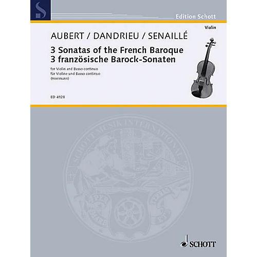 Schott Easy Old French Sonatas Vn/bc Schott Series-thumbnail