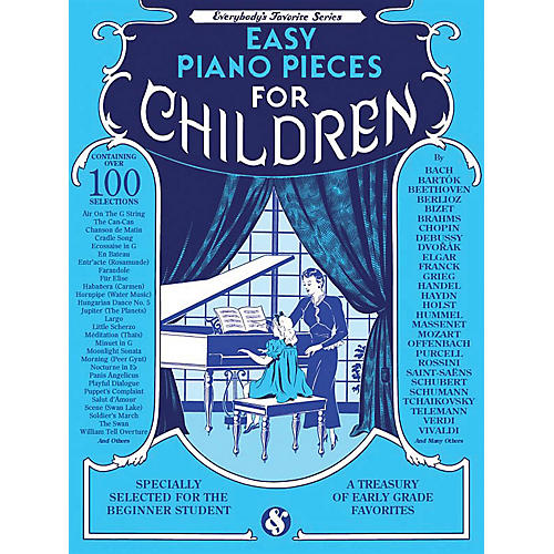 Music Sales Easy Piano Pieces for Children (Everybody's Favorite Series) Music Sales America Series Softcover-thumbnail