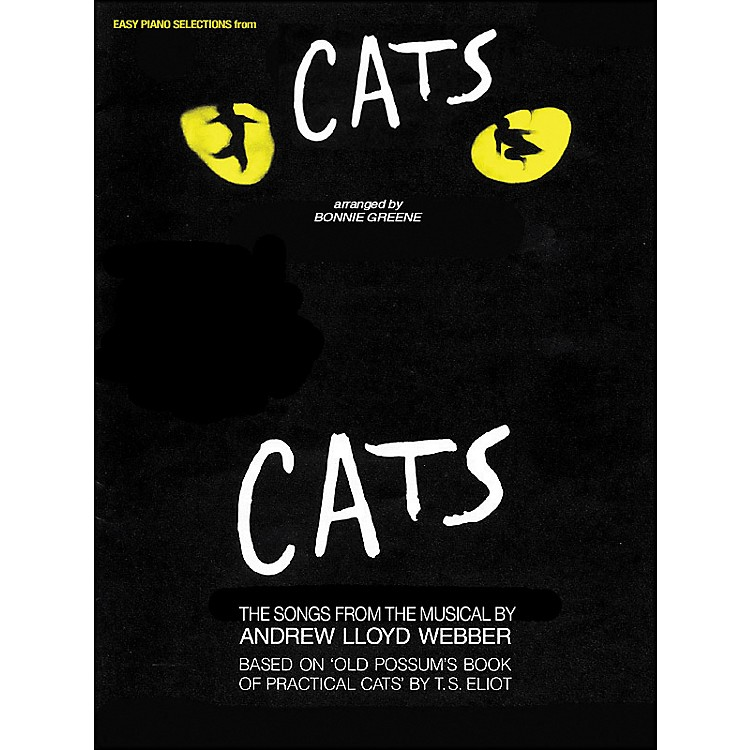 Hal Leonard Easy Piano Selections from Cats  Songbook