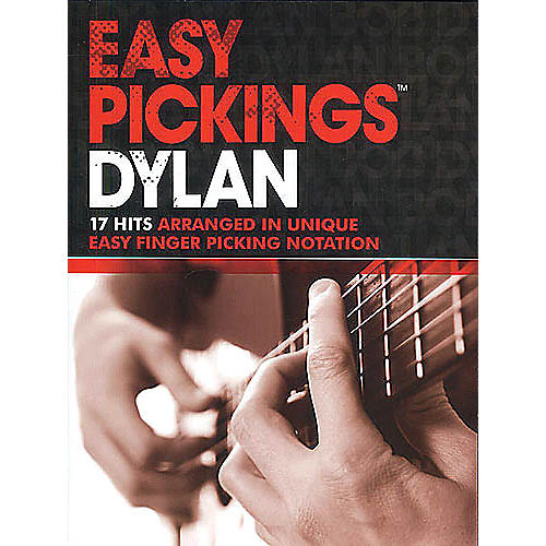 Music Sales Easy Pickings Dylan Music Sales America Series Softcover Performed by Bob Dylan-thumbnail