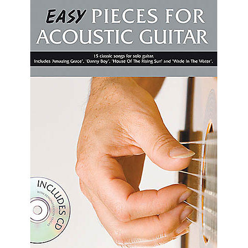 Music Sales Easy Pieces for Acoustic Guitar Music Sales America Series Softcover with CD-thumbnail