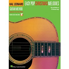 Hal Leonard Easy Pop Christmas Melodies Guitar Method Series Softcover Audio Online Performed by Various