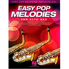 Hal Leonard Easy Pop Melodies For Alto Sax