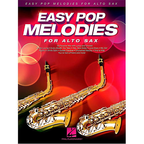 Hal Leonard Easy Pop Melodies For Alto Sax