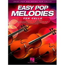 Hal Leonard Easy Pop Melodies For Cello