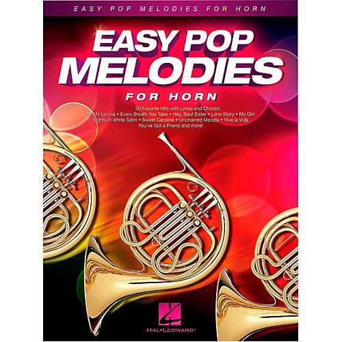 Hal Leonard Easy Pop Melodies For Horn-thumbnail