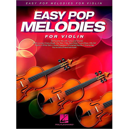 Hal Leonard Easy Pop Melodies For Violin-thumbnail