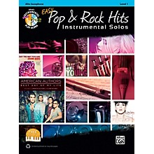Alfred Easy Pop & Rock Instrumental Solos Alto Sax Book & CD