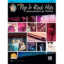 Alfred Easy Pop & Rock Instrumental Solos Violin Book & CD