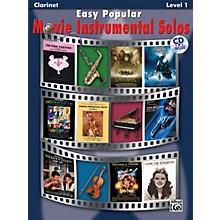Alfred Easy Popular Movie Instrumental Solos Clarinet