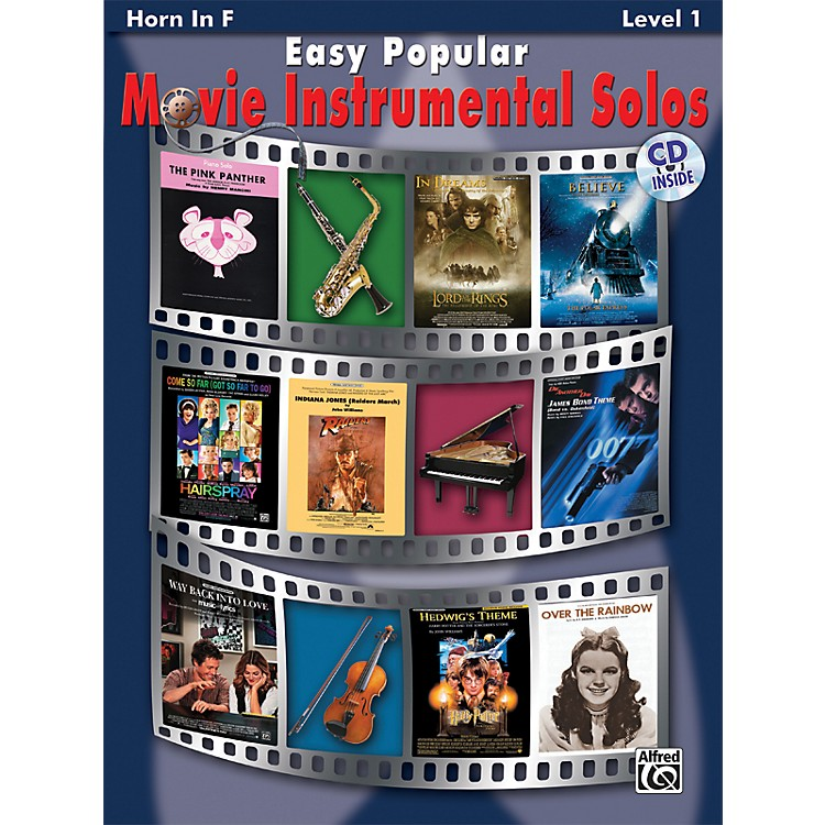 Alfred Easy Popular Movie Instrumental Solos French Horn