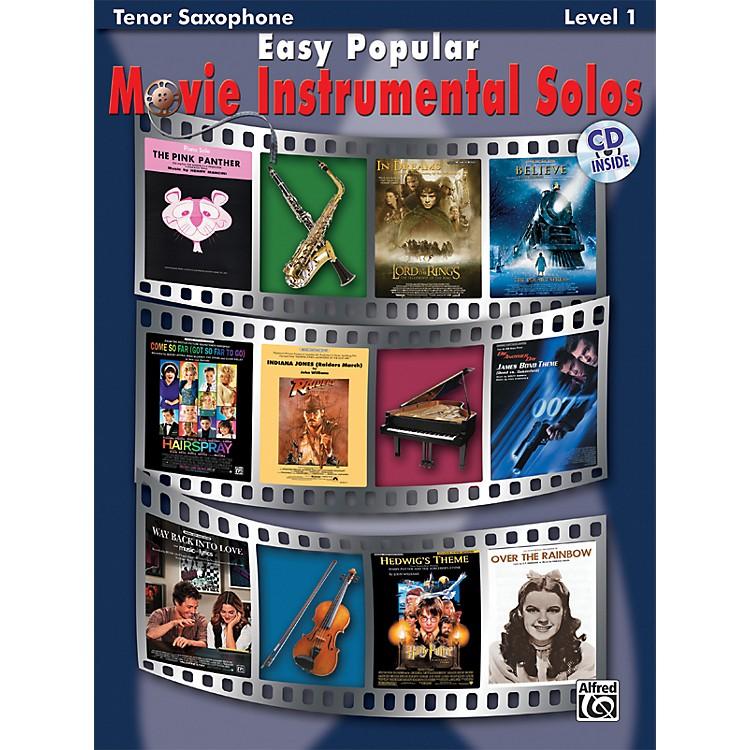 AlfredEasy Popular Movie Instrumental SolosTenor Sax