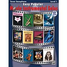 Alfred Easy Popular Movie Instrumental Solos Tenor Saxophone