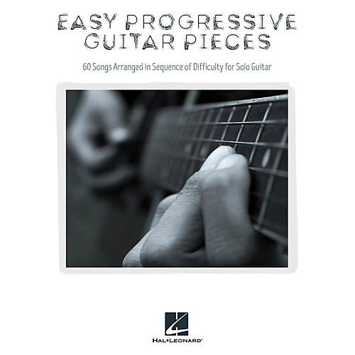 Hal Leonard Easy Progressive Guitar Pieces Guitar Solo Series Softcover Performed by Various-thumbnail
